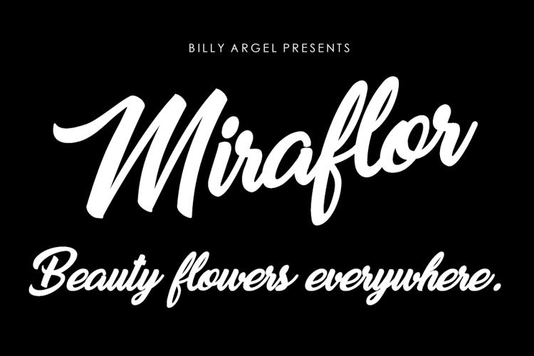 Miraflor Font