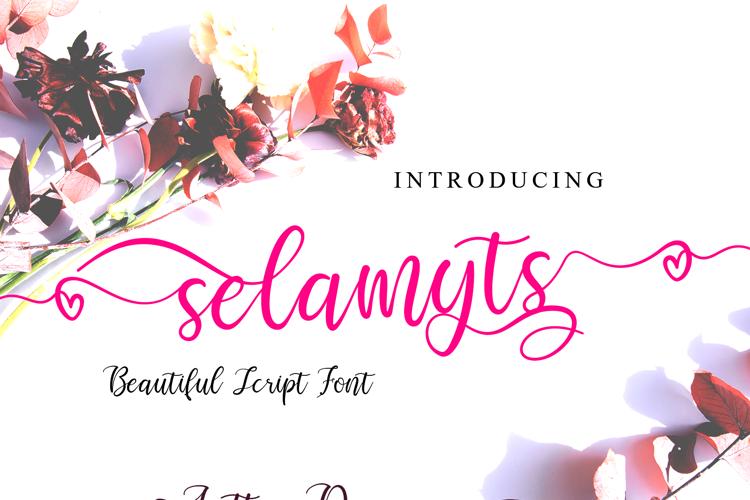 Selamyts Font