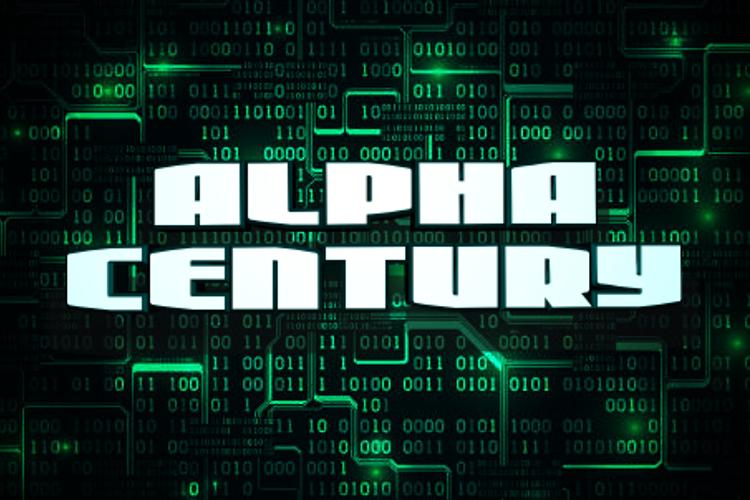 Alpha Century Font