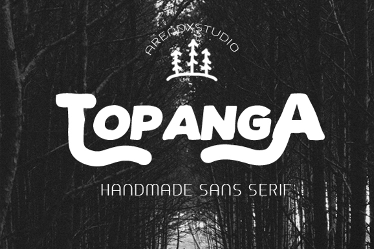 TOPANGA Font