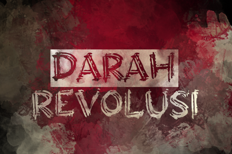 Darah Revolusi Font