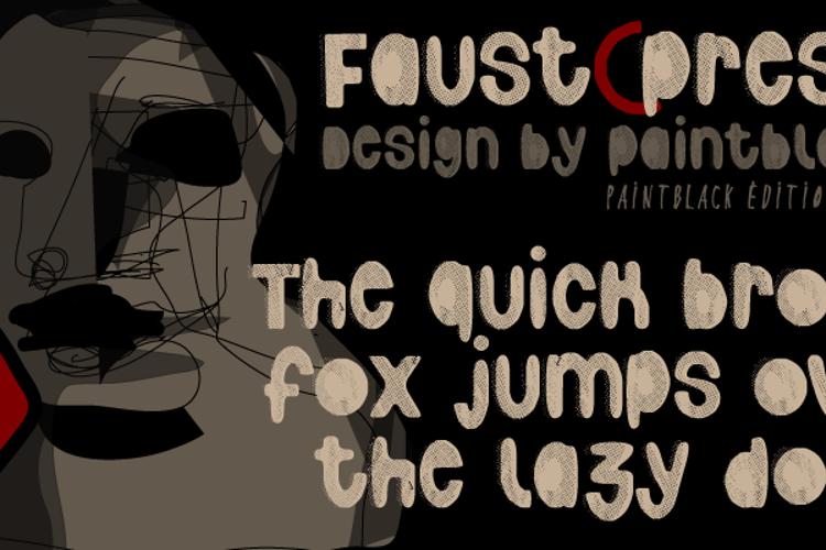 Faustpress Font