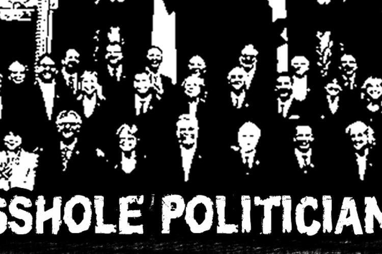 CF Asshole Politicians Font