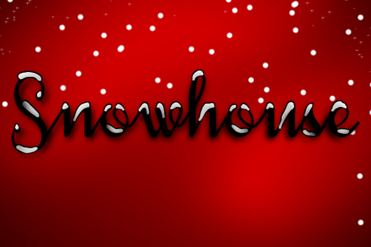 Snowhouse DEMO Font