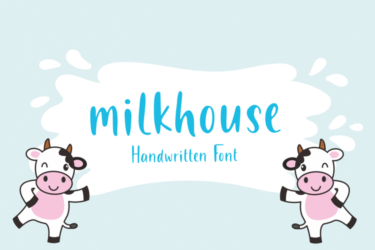Milkhouse Font