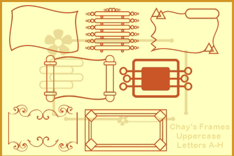 Chay's Frames Font