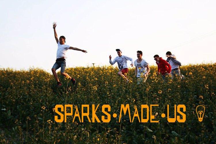 SPARKS MADE US Font