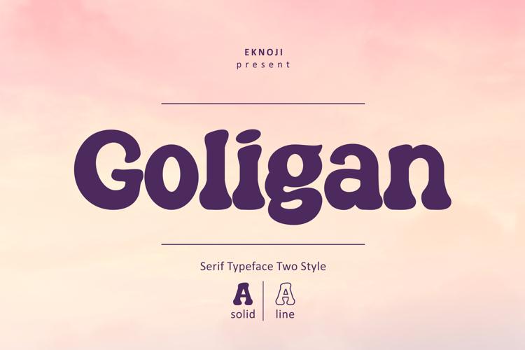 Goligan Font