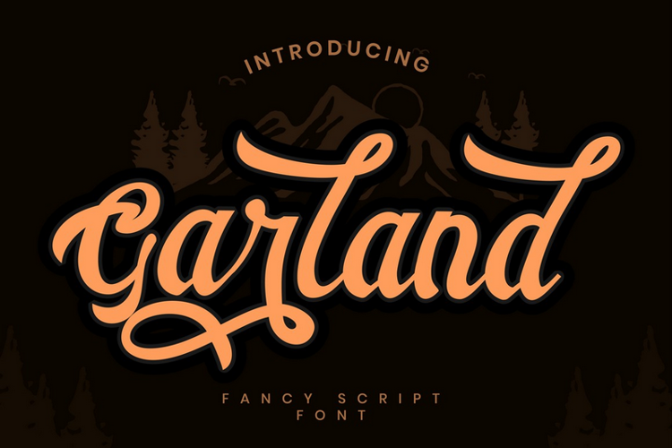 Garland Font