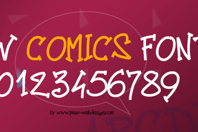 PWComics Font