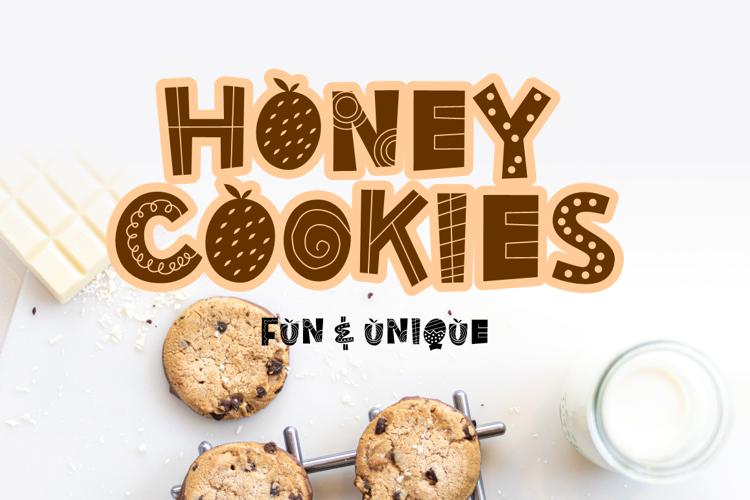 Honey cookies Font