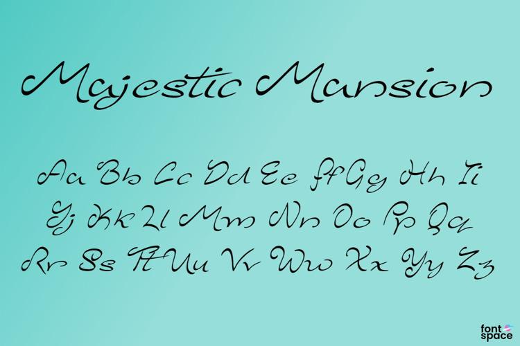 Majestic Mansion Font