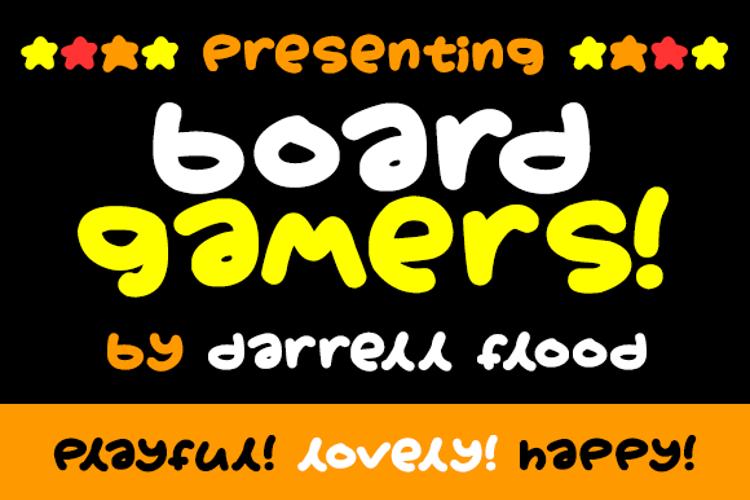 Boardgamers Font