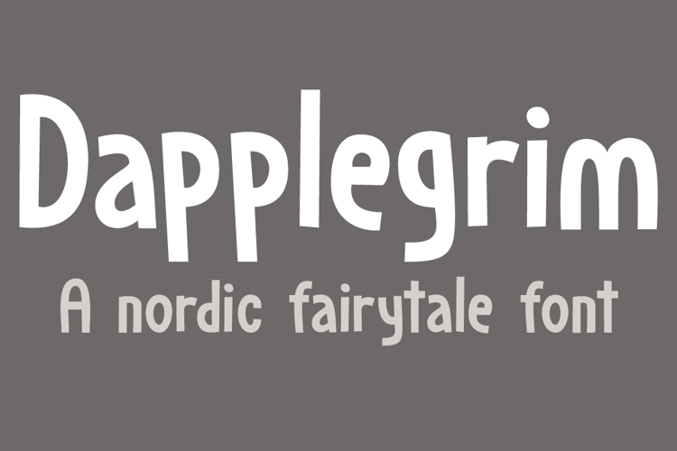 Dapplegrim DEMO Font