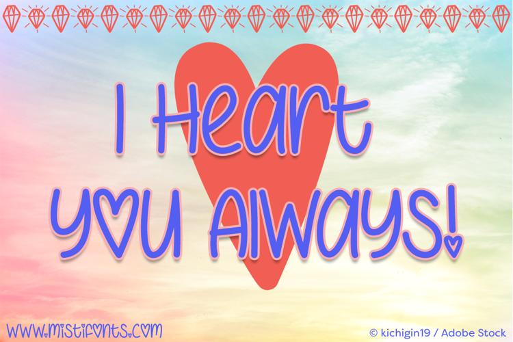 I Heart You Always Font