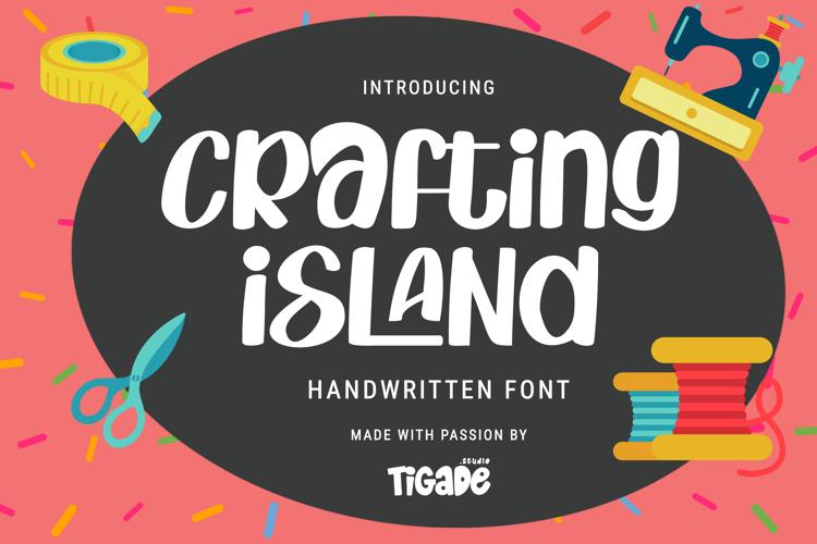 Crafting Island Font
