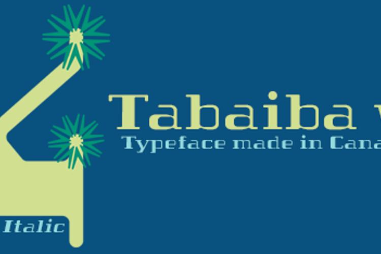Tabaiba wild ffp Font