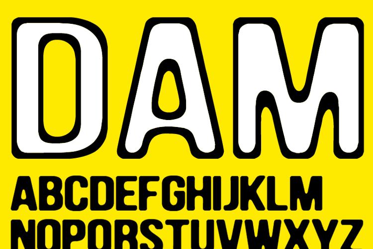 DAM Font