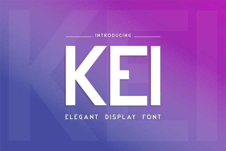 Kei Font