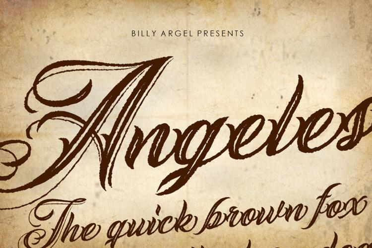 ANGELES ROUGH Font