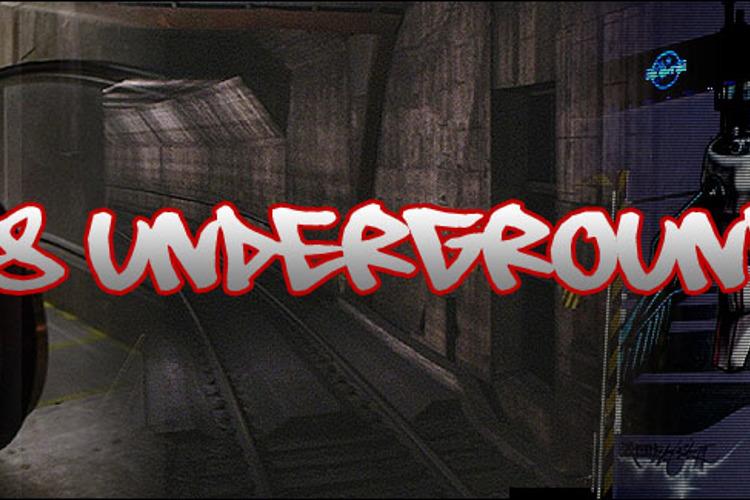 08 Underground Font
