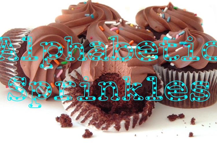 Alphabetic Sprinkles Font