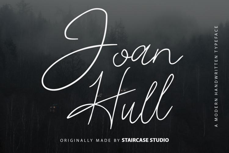 Joan Hull Font