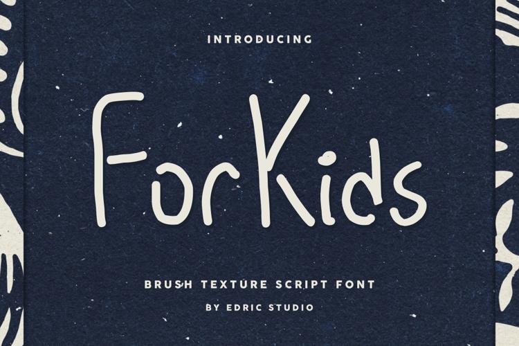 For Kids Font