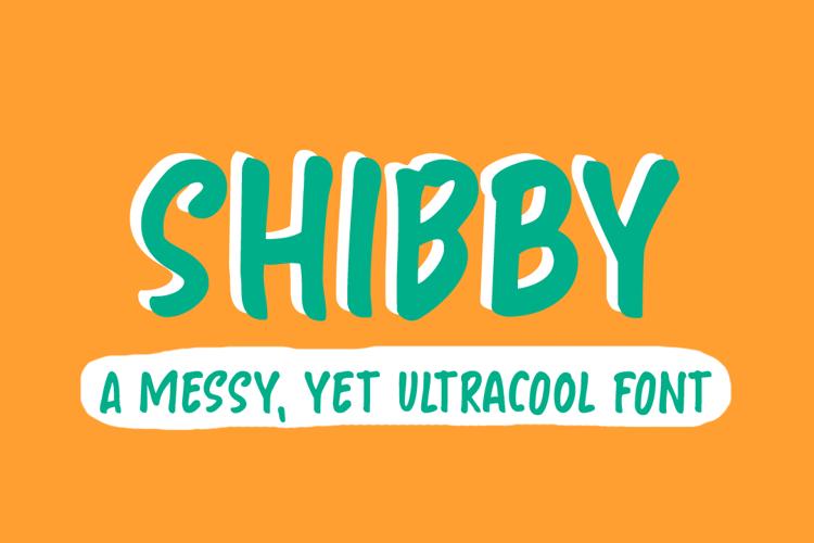 Shibby Font