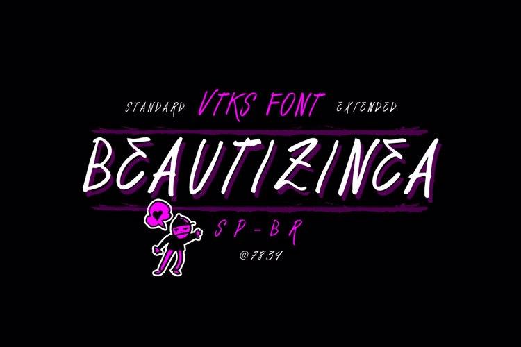 Vtks Beautizinea Font