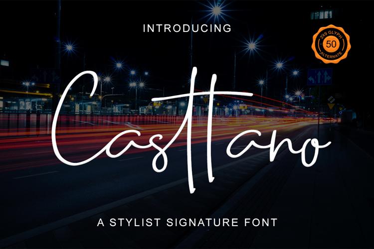 Casttano Font