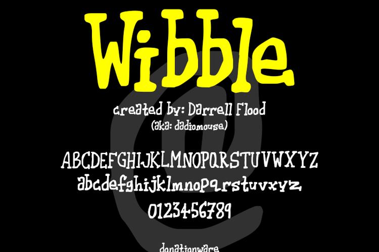 Wibble Font