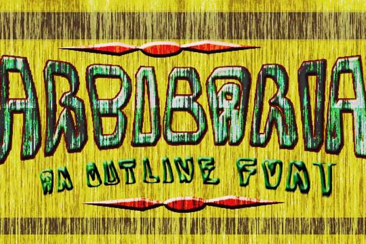 BarbibarianMarker Font