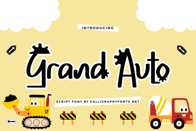 Grand Auto Font