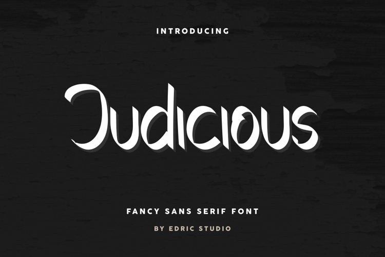Judicious Font