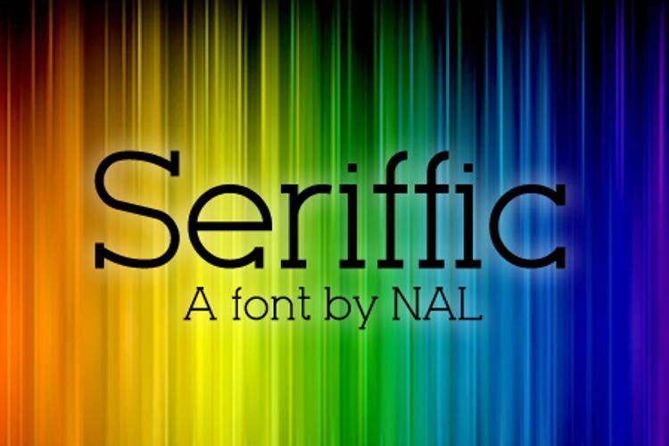 Seriffic Font