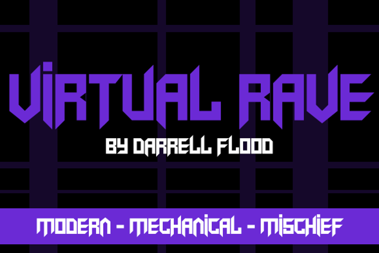 Virtual Rave Font