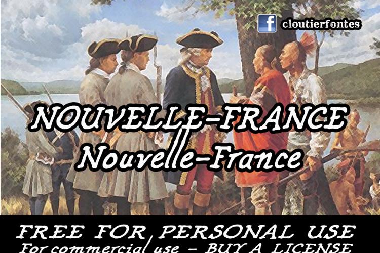 CF Nouvelle France Font