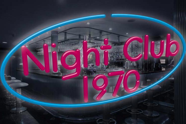 Night Club 70s Font