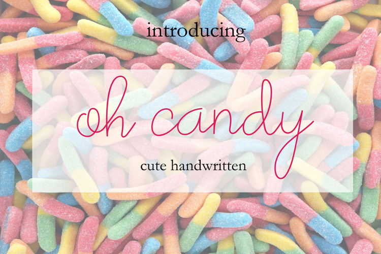 oh candy Font