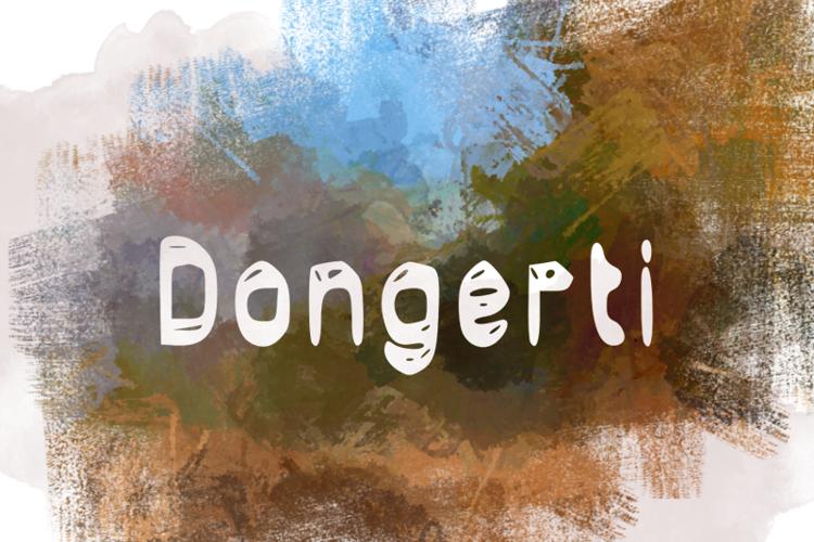 d Dongerti Font