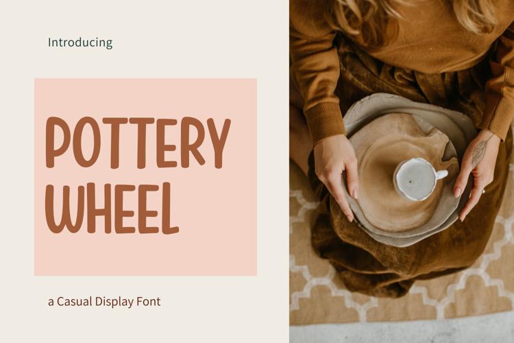Pottery Wheel Font