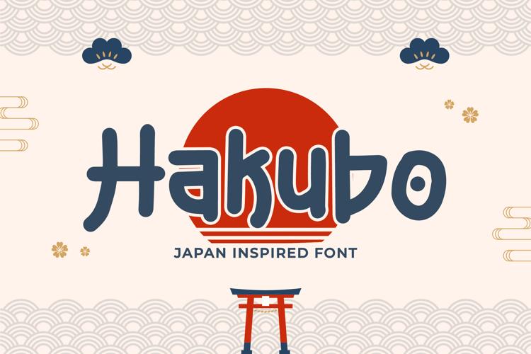 Hakubo Font