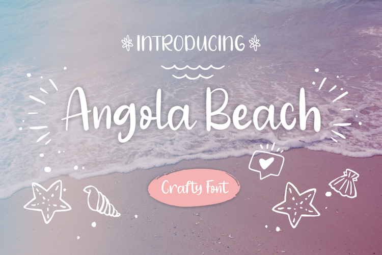 Angola Beach Font