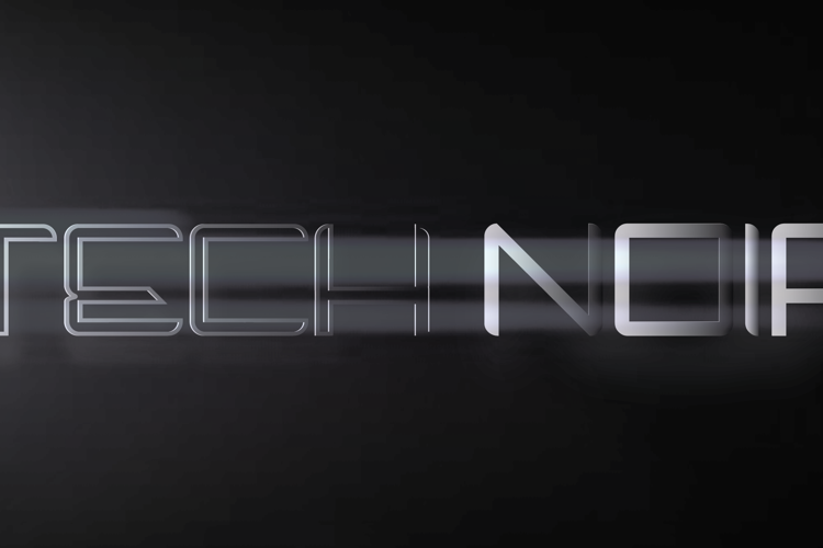 Tech Noir Font