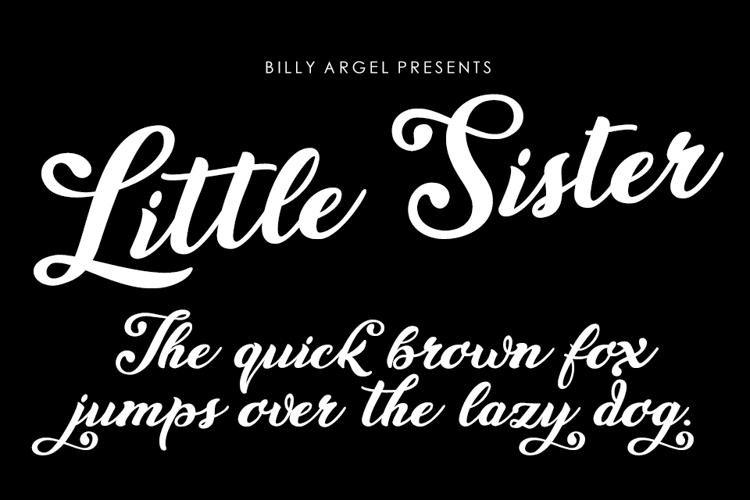 Little Sister Font