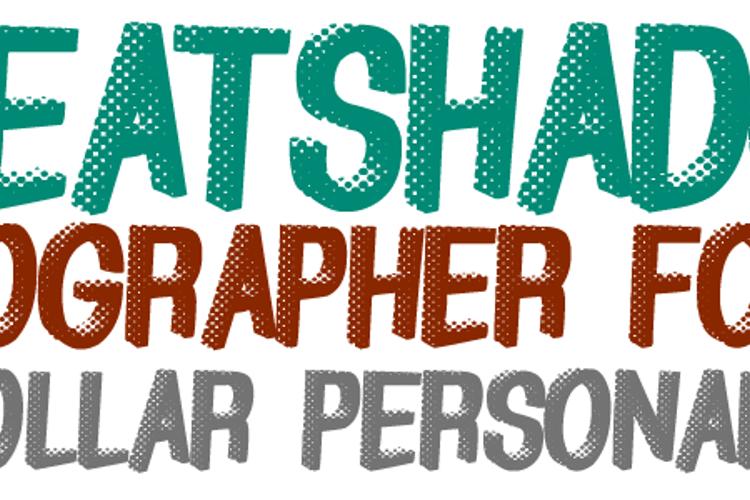 GreatShadow Font