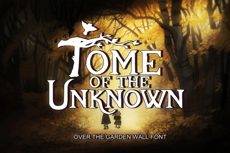 Tome Of The Unknown Font