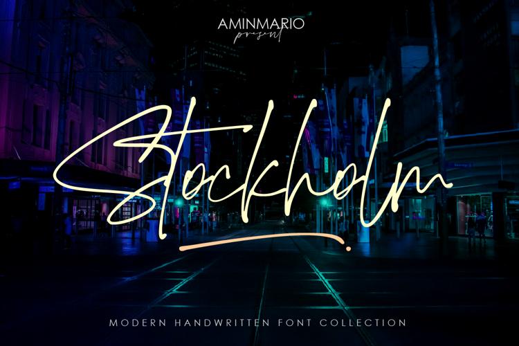 Stockholm Font