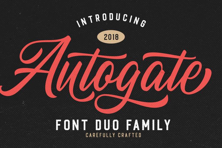 Autogate Font